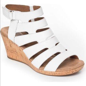 Rockport♥️NWT♥️Janna sandal size 11 white